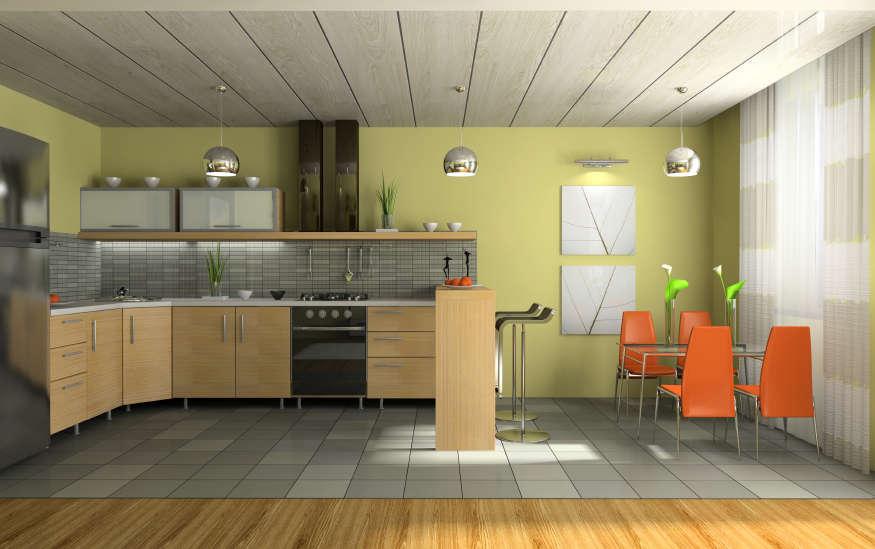 несколько кухни отделанные пластиком фото поэтому
